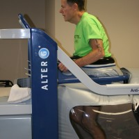 Triathlon Training, alter G anti-gravity